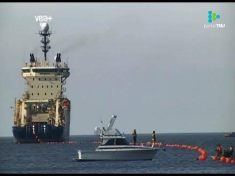 Se inauguró en Uruguay el primer cable submarino que une las Américas
