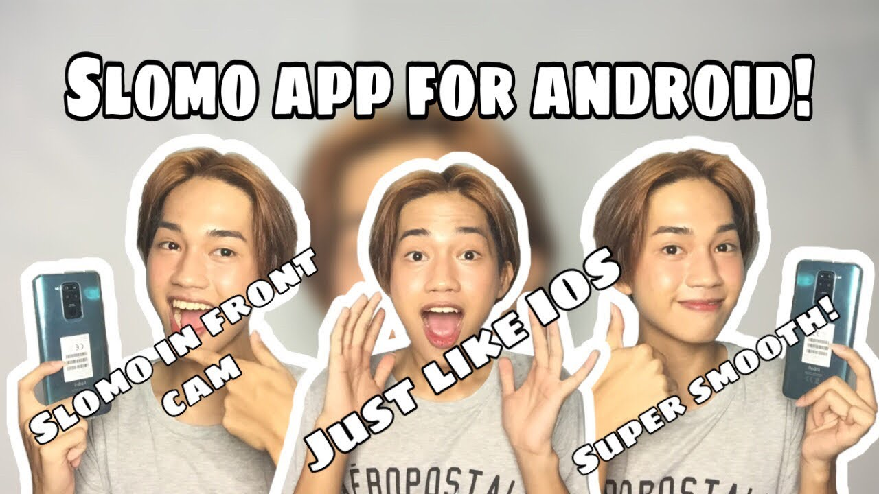 SLOMO TUTORIAL FOR ANDROID (Super smooth!!) || raque jay