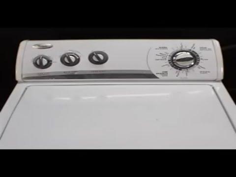 Panel de controles secadora whirlpool de 29 pulgadas youtube for Como reparar una lavadora