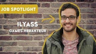 Games-Redakteur - Ilyass Alaoui im Job-Spotlight