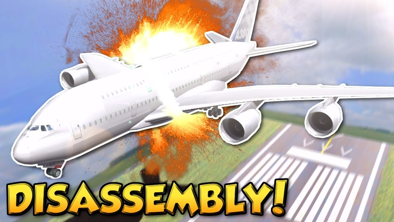 Disassembly 3D Gameplay Taking Apart A Plane