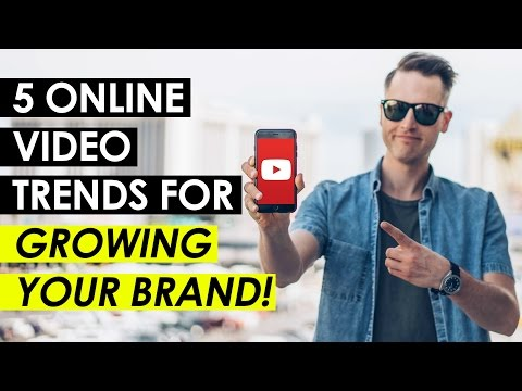5 Online Video Trends You Need-to-Know for Growing Your Brand