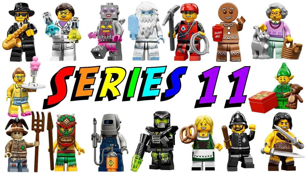LEGO Series 11 Minifigures 71002 Complete Collection ...