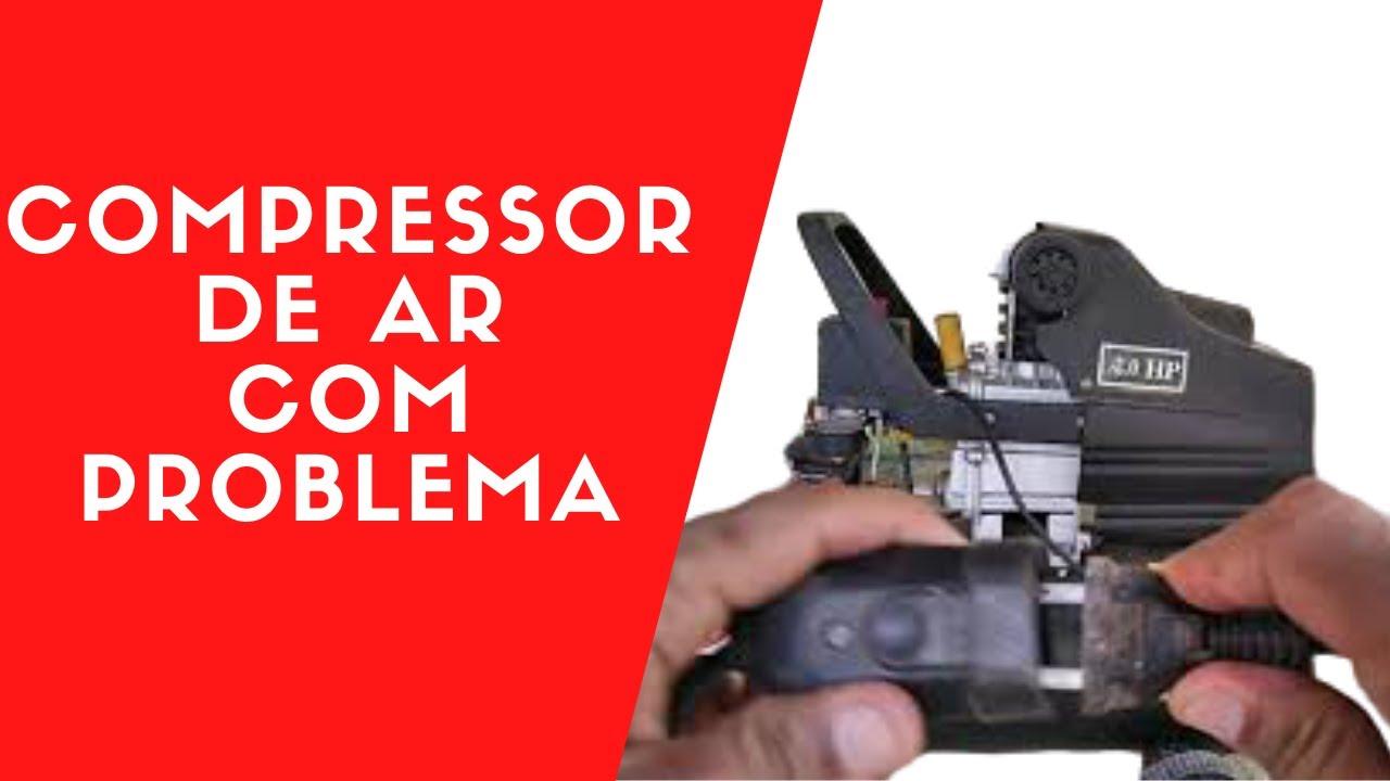 Compressor de Ar 2 HP faz barulho não roda,