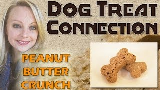 Dog Treat Connection - Peanut Butter Crunch - All Natural & Healthy Dog Treats