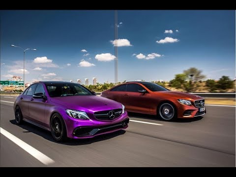 GMG Cars Mercedes E300 & C180 AMG Transformation
