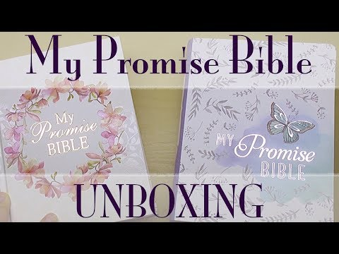 KJV Journaling Bible Unboxing: My Promise Bible