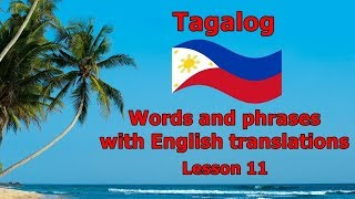 Learn Tagalog - Simple Tagalog Conversation in a Restaurant