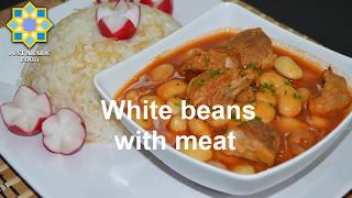 White Beans with Meat  - just Arabic food
