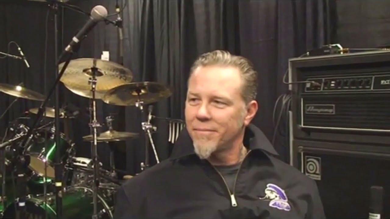 Interview with Metallica's James Hetfield in Las Vegas, NV, USA (2009) - YouTube