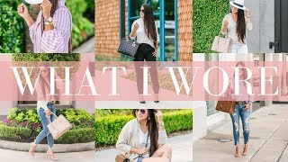 WHAT I WORE - 10 Casual Outfit Ideas | LuxMommy