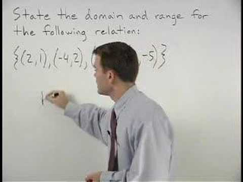 Domain and Range - MathHelp.com - Algebra Help