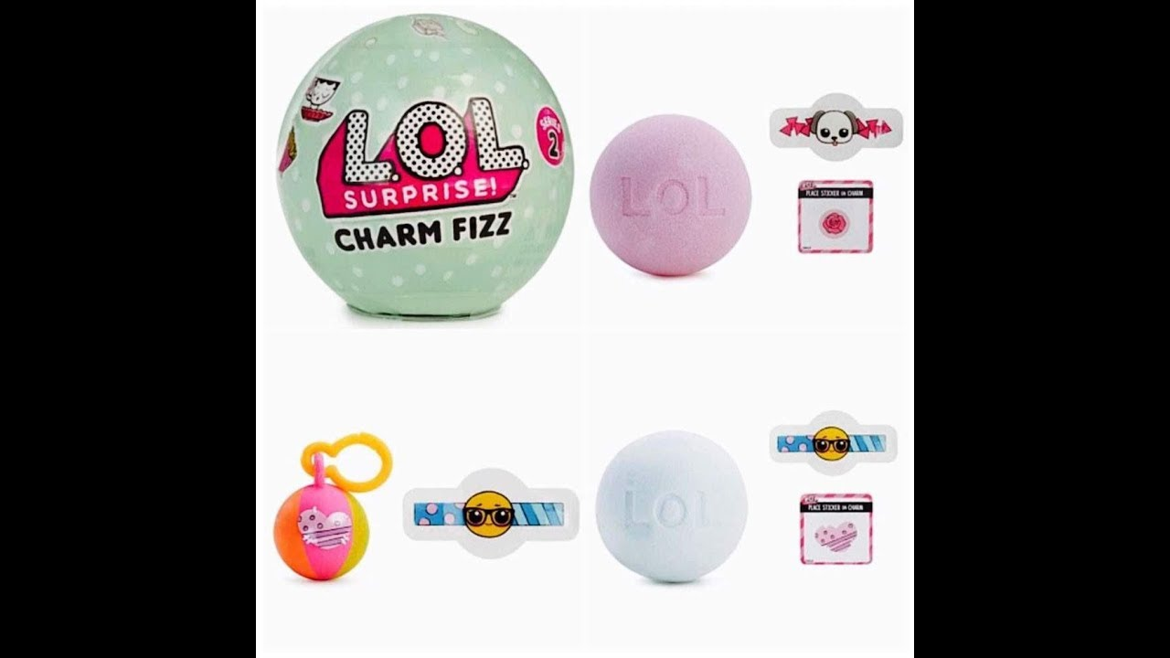 Lol Surprise Charm Fizz Series 2 Youtube