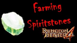 Dungeon Hunter 4 - Farming Spiritstones / Getting Spiritstones