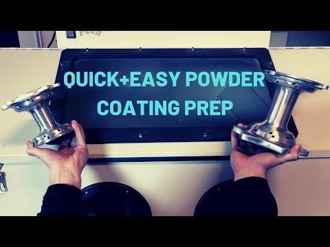 Quick Powder Coating Prep (AMAZING RESULTS)