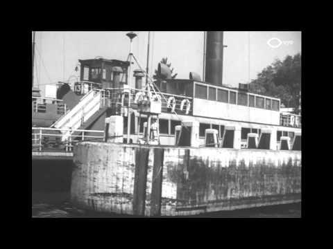 Pontenbrug over het IJ - 1945 - Amsterdam