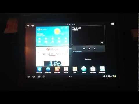 How To Upgrade The Samsung Galaxy Tab 10.1 Official Ice Cream Sandwich