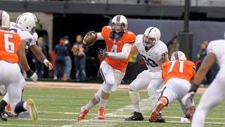 Illinois Football Postgame Highlights vs Penn State 11/22/14