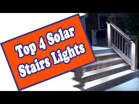 🌻 The Top 4 Solar Deck Lights For Steps – The Best Outdoor Solar Stair Lights On The Market Today