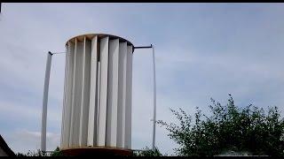 Вертикальный ветрогенератор в работе(๑۩۩๑▭▭▭▭▭▭▭▭▭▭▭▭▭○ Буду очень признателен за подписку и like :) ▻ Мой канал:..., 2015-10-23T11:53:20.000Z)