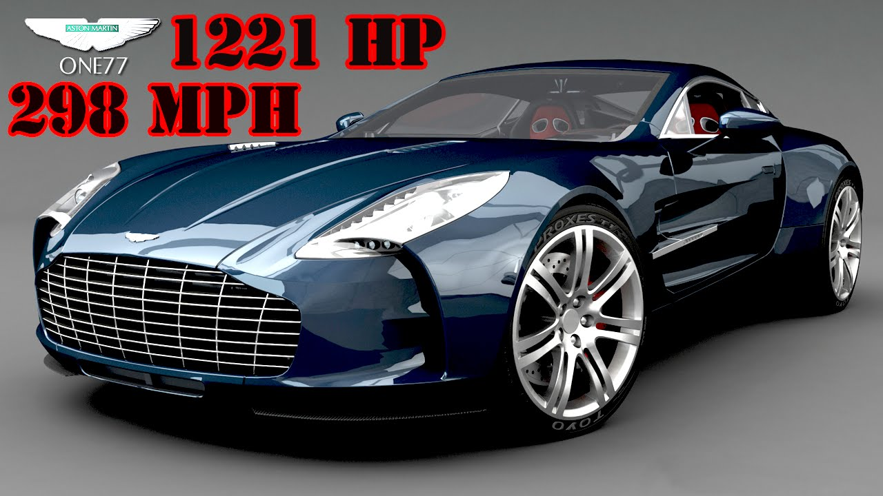 GT6 Top Speed Tune for the Aston Martin One 77 (298 mph) - YouTube