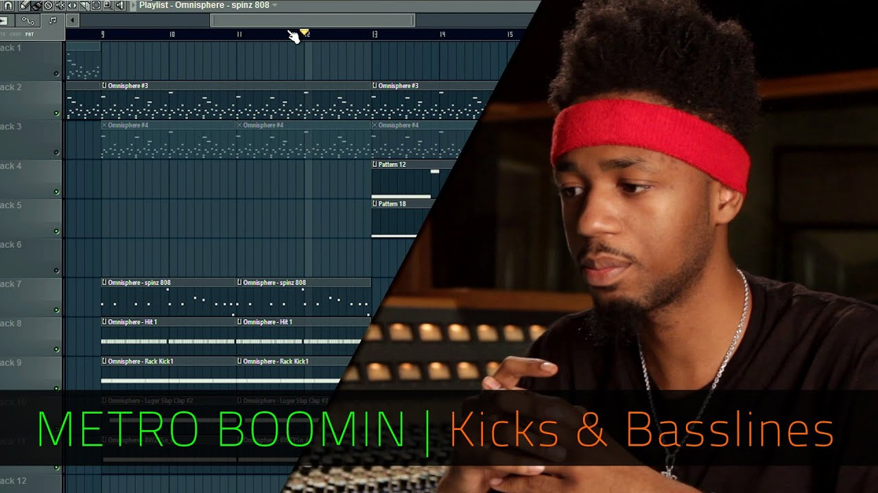 METRO BOOMIN | Kicks and Basslines | FL Studio | Razer ...