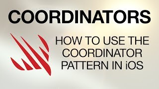 How to use the Coordinator pattern in iOS