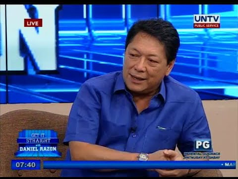 "UNTV: Sec. Silvestre ""Bebot"" Bello III on Get it Straight"