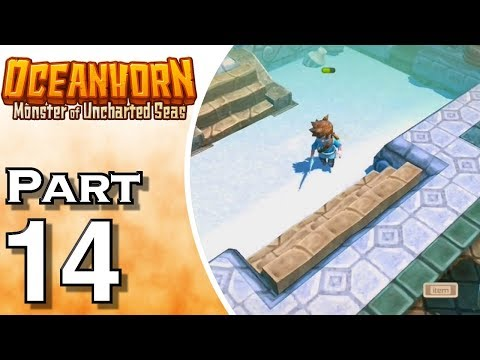 Let's Play Oceanhorn (Gameplay + Walkthrough) Part 14 - Frozen Palace