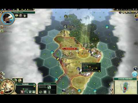 3.5 hours of Civ 5 as the Persians on an archipelago map, trying to ICS.