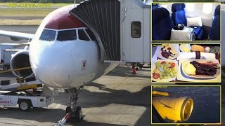 TACA International Airlines A319 Business Class Miami - El Salvador [AirClips full flight series]