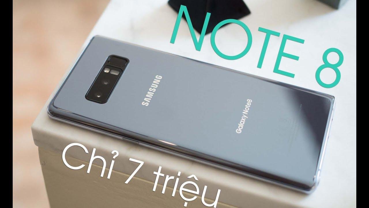 Galaxy Note 8: Chỉ 7 triệu sau 2 tháng giảm hơn 1 triệu.