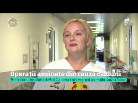 Operaţii amânate din cauza căldurii la spitalul din Timişoara