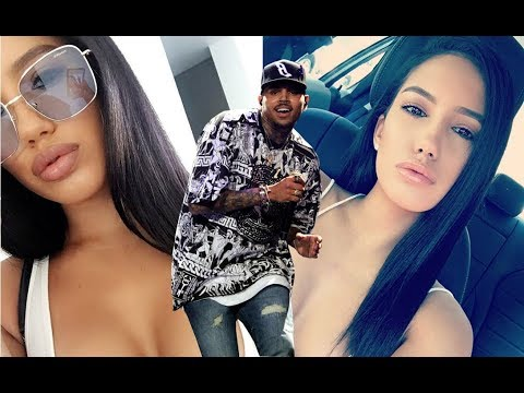 Chris Brown Amazing  New Girlfriend 2017 [Chris Brown & Model  Vanessa Vargas ]
