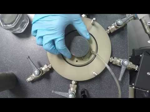 How to prepare a clay sample for Triaxial Testing