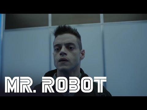 Mr. Robot: Season 3: Elliot Rides The Elevator With Mr. Robot (Episode 5)