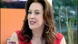 Mais Voce - Claudia Raia revela fissura: