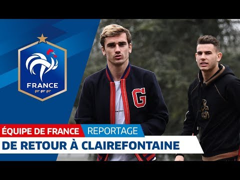 """Equipe de France : Les Bleus de retour au Château"""" I FFF 2018"""