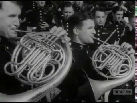 The United States Marine Corps Band  circa 1942