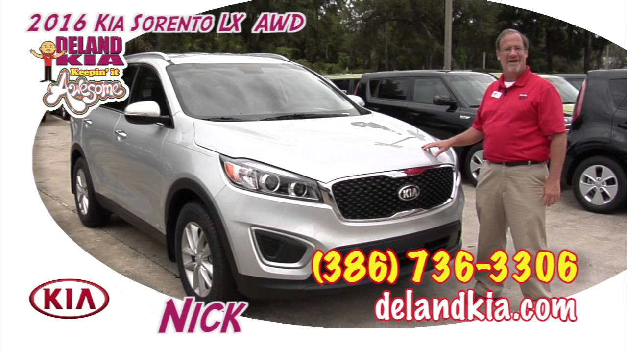 Deland Kia 2016 Soo Lx Awd 5 000 Lbs Towing Capacity Features Orlando Fl You