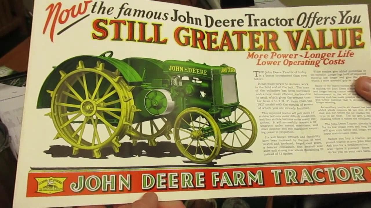 John Deere Gifts >> Kentucky Man's Collection of Rare Vintage Farm Equipment ...