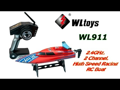 WLtoys WL911 2.4GHz, 2Ch High Speed Racing RC Boat (RTR)