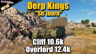 WoT: FV4005 Stage II, Derp Kings, Cliff, Overlord, WORLD OF TANKS