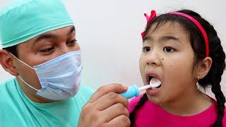 The Dentist Song  Jannie Pretend Play Nursery Rhymes Sing-Along Kids Songs