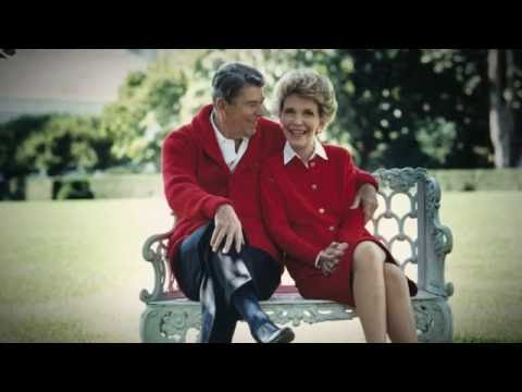 Inside President  and Mrs. Nancy Reagan's Bel Air home