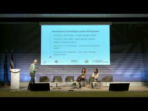 European Organic Congress - Supporting the development of organic now – roundtable discussion