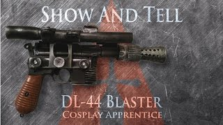 han solo s dl 44 blaster star wars show and tell