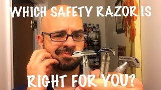 Which Safety Razor is Right For You?