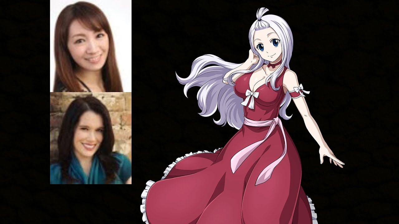 Anime Voice Comparison Mirajane Strauss Fairy Tail Youtube From wikipedia, the free encyclopedia. anime voice comparison mirajane