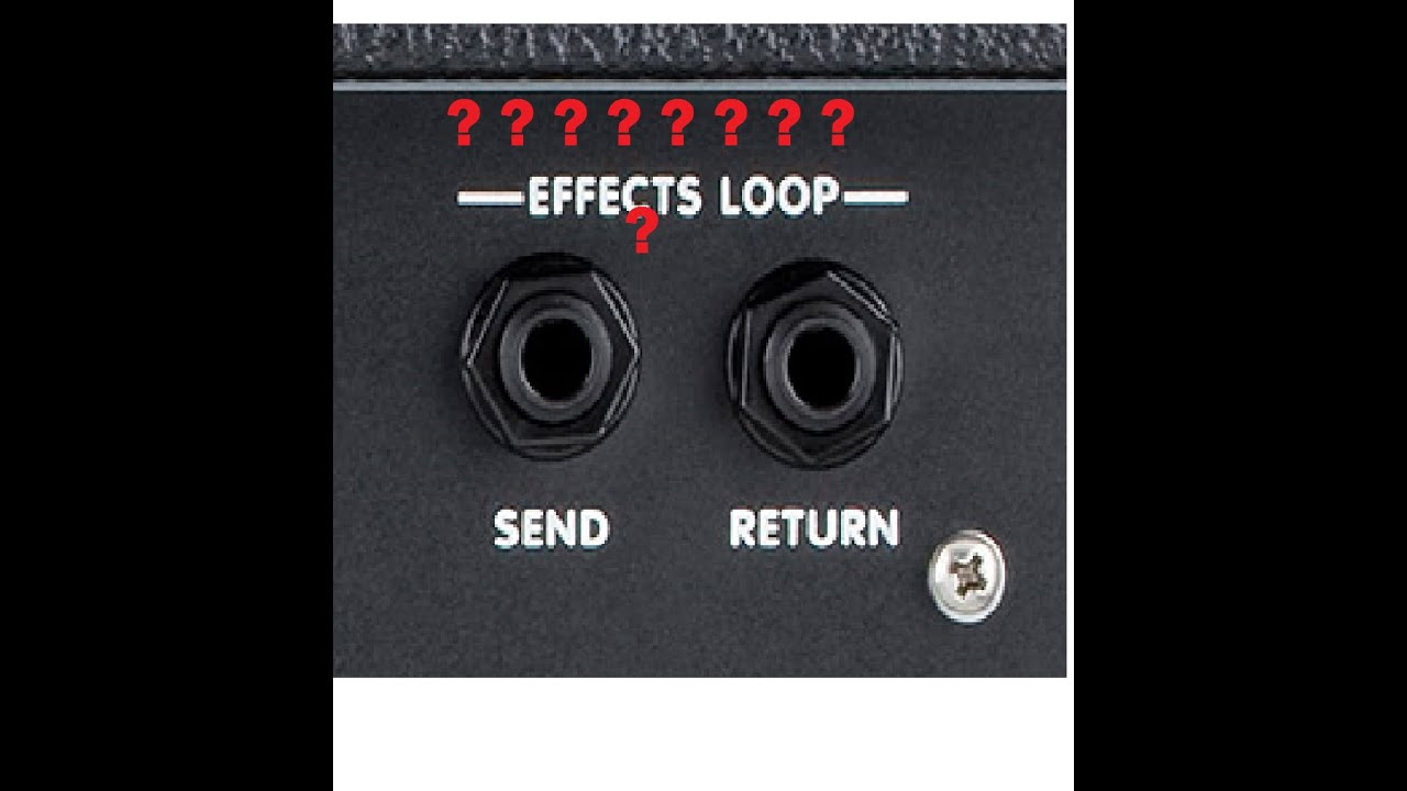 how and why to use the effects loop in guitar amps youtube. Black Bedroom Furniture Sets. Home Design Ideas